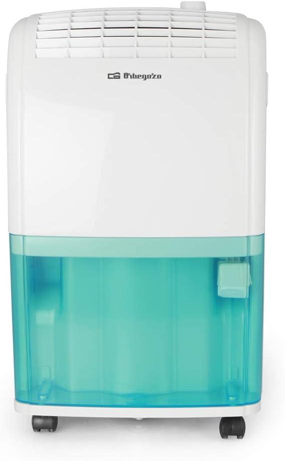 3.5 litros Orbegozo Dh 1620 Deshumidificador 320 W Blanco//Azul