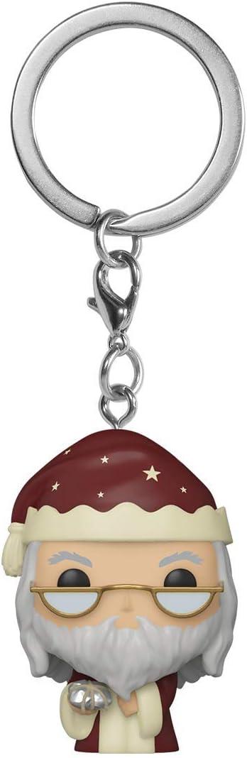 Funko- Pop Keychain Harry Potter Holiday-Dumbledore S11 Figura coleccionable, Multicolor (51207)