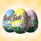 M&MS Easter Milk Chocolate Candy in Easter Eggs 0.93-Ounce Egg 12-Count Box
