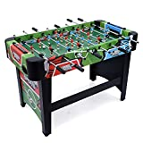 JumpStar 4ft Stadium Football Table Full Size Footy Game Foosball