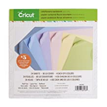 Cricut 2002002 Textured Cardstock, 12-Inch by 12-Inch, Wildflowers