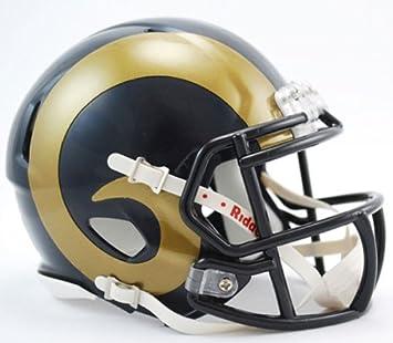16721b792bd St. Louis Rams Speed Mini Helmet  Amazon.co.uk  Sports   Outdoors