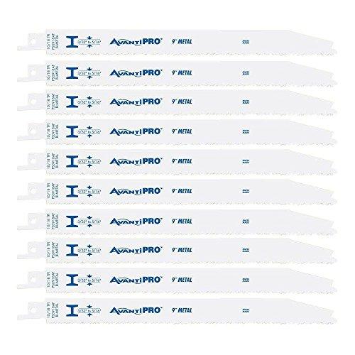 FREUD PS0918AF10 Avanti 9 10/18 TPI Saw Blade (10 Pack) 10 Pack Reciprocating Saw