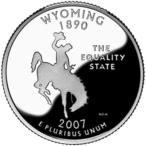 2007 Wyoming – D State Quarter Roll