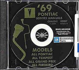 1969 pontiac factory repair shop service manual fisher body rh amazon com 1977 Pontiac LeMans 1970 pontiac lemans service manual