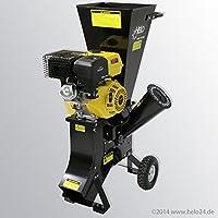 HELO Benzin Schredder HBS 13/102 mit starkem 13 PS 4-Takt OHV Motor, 22...