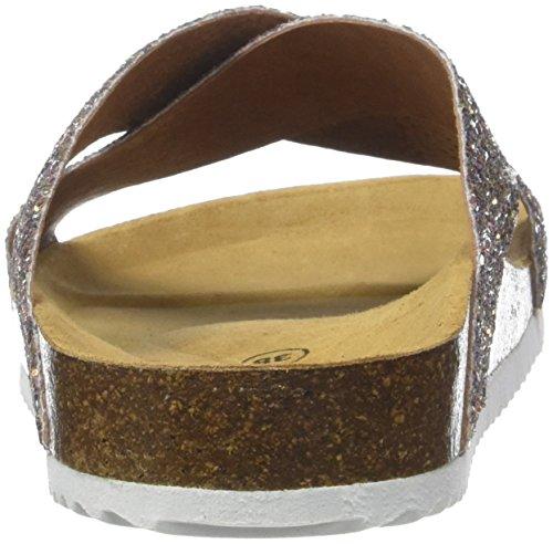 Cerises Temps Glitter Ouvert Le Cooper Falone Femme Sandales des Bout Rose AEHqHa