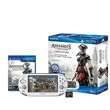 PS Vita Assassin's Creed III: Liberation Limited Edition White Wi-Fi Bundle - PlayStation Vita