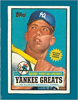Buy Yankee Greats 100 Classic Baseball Cards Book Online At Low