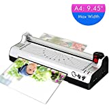 "2-in-1 9"" Tape Cutter Document Photo Home Office A4 Thermal Laminator/Laminating Machine - 220V"