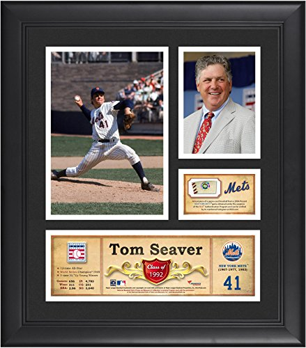 Tom Seaver New York Mets Framed 15