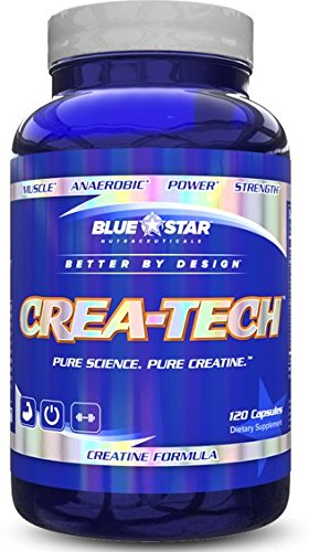 Blue Star Nutraceuticals Crea-Tech, 120 Capsules