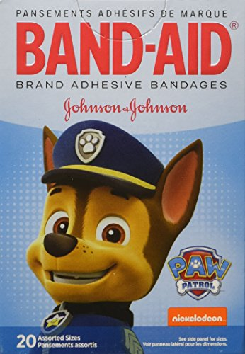 Band-Aid Adhesive Bandages, Nickelodeon Paw Patrol, 20 Count