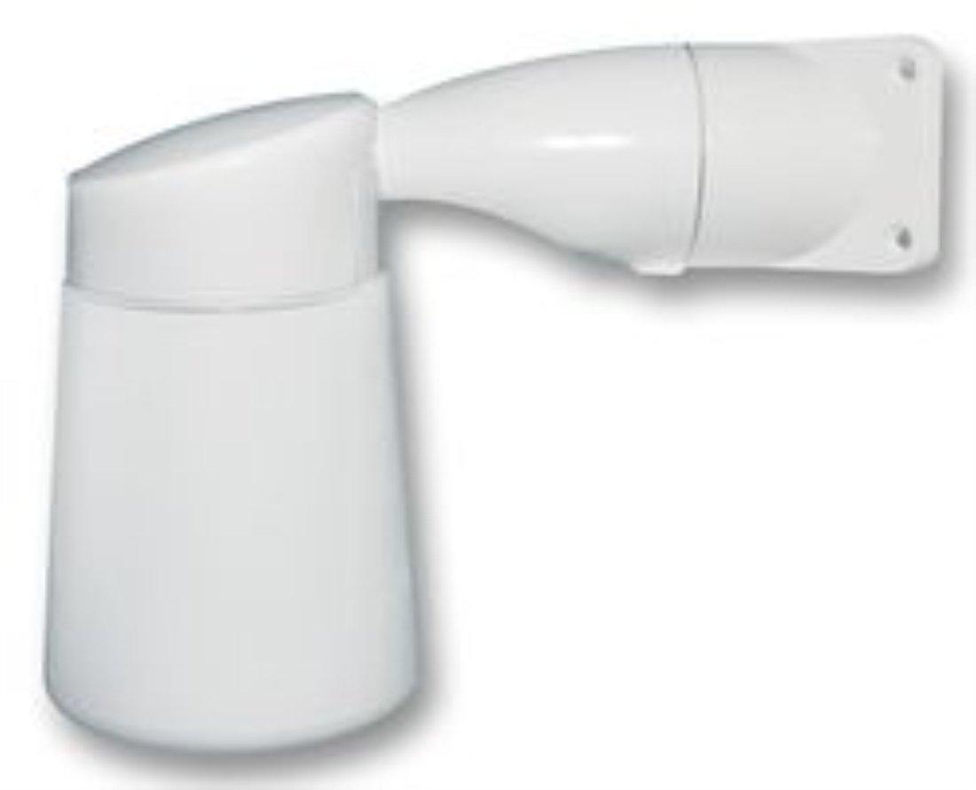 Corner Lighting Eterna White Cast Aluminium Body Corner Mounting Outdoor Wall