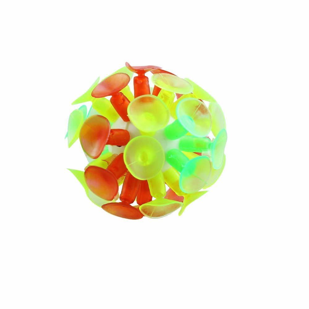 J&J's ToyScape 3-Set Sticky Ball Game with Light-up Suction Ball (3 Balls and 6 Paddles) Great for Imagination & Creativity of Your Kids - Fun Time to Play with Friends & Family.