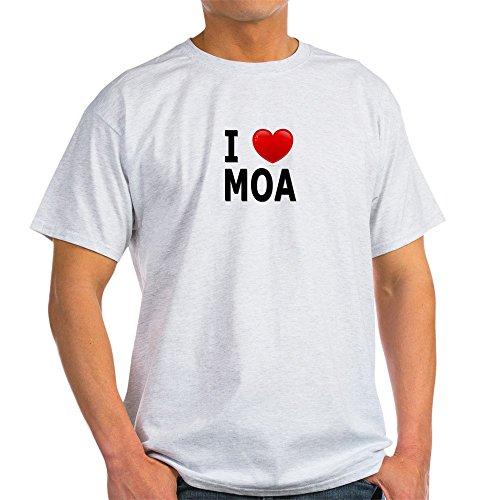 CafePress Love moa - 100% Cotton - Mall Shopping Bloomington