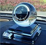 Alfto Crystal Clock Seat Car Perfume Air Fresheners Perfume Bottle (Blue)
