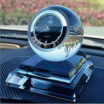 Alfto Crystal Clock Seat Car Perfume Air Fresheners Perfume Bottle Blue Automotive
