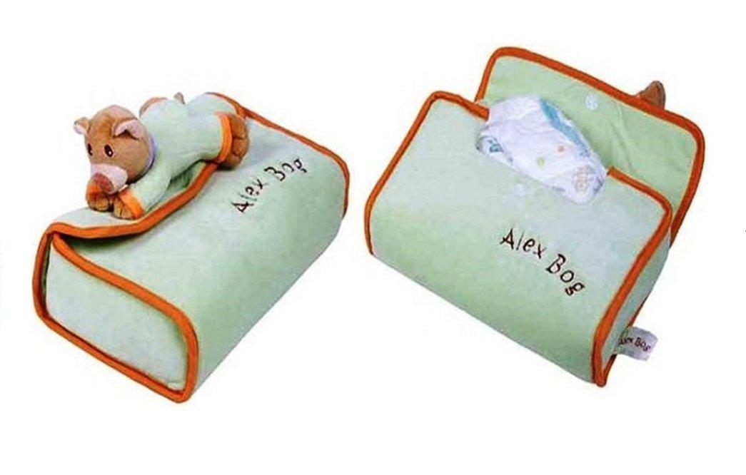 Sacoche ourson range couche vert pistache alex PRY626