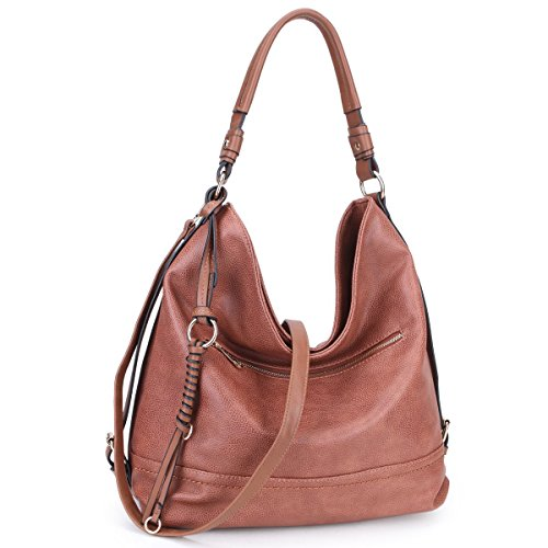 DASEIN Women Handbags Top-Handle Fashion Hobo Tote Bags PU Leather Shoulder Satchel Bags
