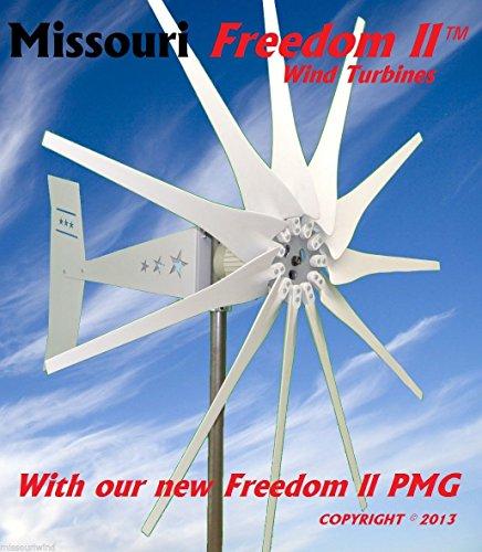 2000 Watt 11 Blade Missouri General™ Freedom II Wind Turbine