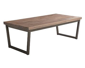 Amazon.com: sunpan Porto moderna mesa de centro: Kitchen ...