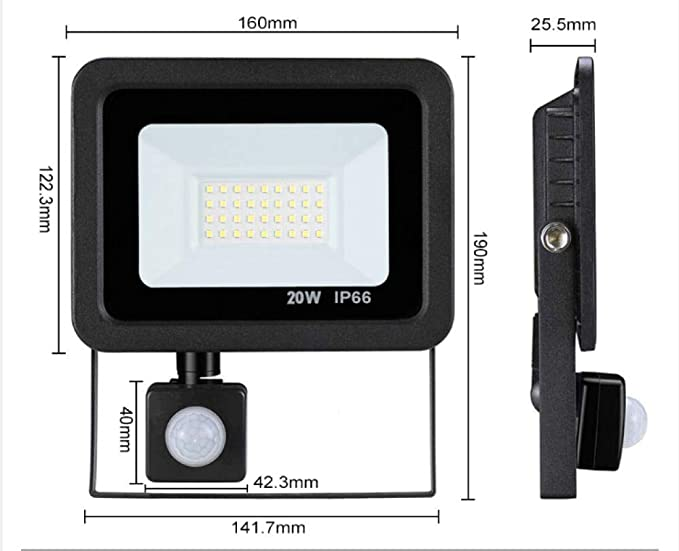 Proyector LED 10W / 20W / 30W / 50W Proyector 220V IP66 Reflector ...