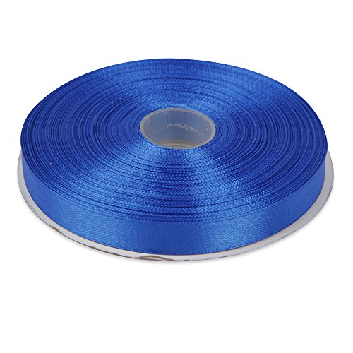-1-2-royal-blue-double-face-solid-satin-ribbon-50-yards-roll-multiple-colors-available-by-topenca-su