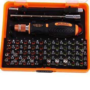 53 in 1 Multi-Bit Precision Torx Screwdriver Tweezer Cell Phone ...