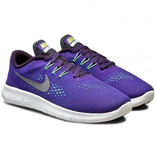 Nike Kid's Free Run (GS) Dark Iris/Reflect Silver 833993-501 (7Y) - Image 4