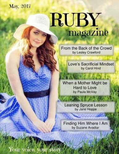 Download RUBY magazine MAY 2017: Your voice, your story pdf epub