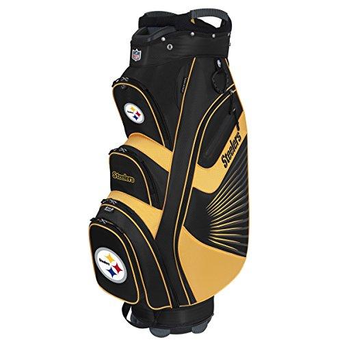Team Effort NFL Pittsburgh Steelers The Bucket II Cooler Cart Bag (Pittsburgh Steelers Rain)