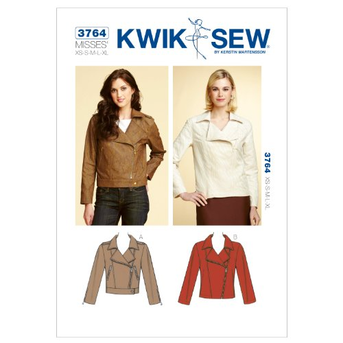 Kwik Sew K3764 Jackets Sewing Pattern, Size XS-S-M-L-XL by KWIK-SEW PATTERNS