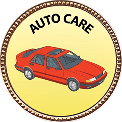 """Auto Care Award, 1 inch dia Gold Pin """"Special Knowledge Collection"""" by Keepsake Awards"""