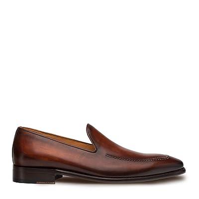 Mezlan Curtana - Mens Luxury Dress Slip Ons - Hand Burnished Venetian Style Loafer - Handcrafted in Spain - Medium Width | Loafers & Slip-Ons