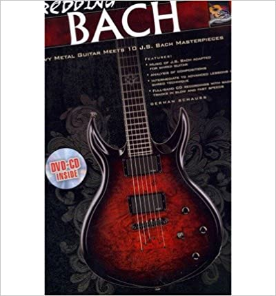 Book Shredding Bach: Heavy Metal Guitar Meets 10 J. S. Bach Masterpieces, Book, CD & DVD (Paperback) - Common
