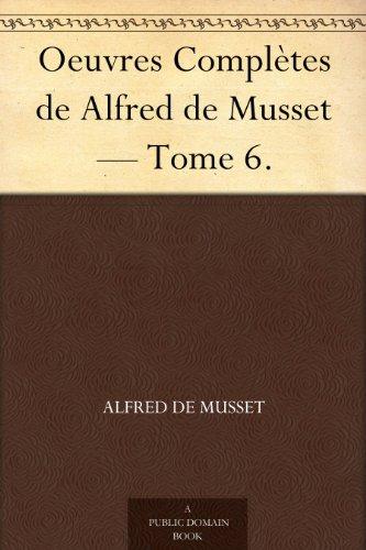 Alfred De Musset [Pdf/ePub] eBook