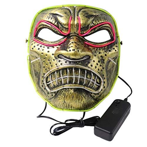 Cholo Clown Costumes - LLJEkieee Halloween LED Light up Full