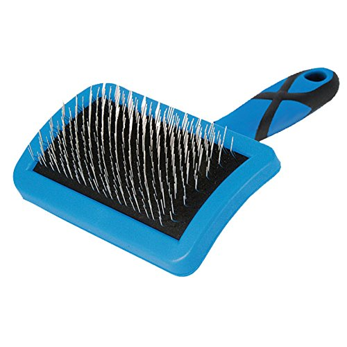 Groom Professional Curved Firm Slicker Brush Large