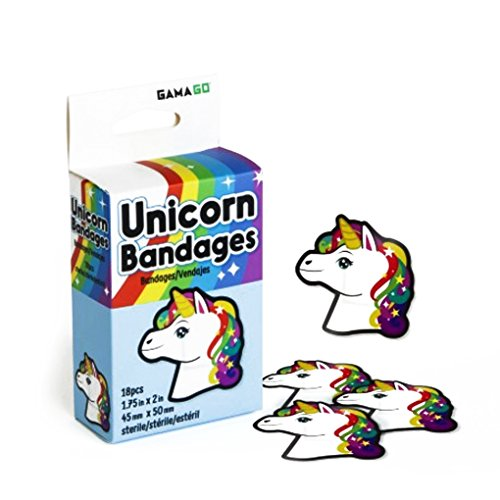 GAMA GO Unicorn Bandages-18 pieces
