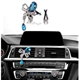Bling Car Accessories, Mini-Factory Car Interior Bling Accessory Air Vent Bling Car Decor - Diamond Butterfly Blue