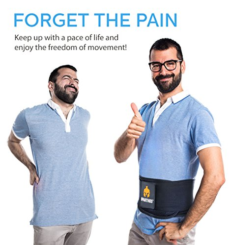 Back Pain, Sciatica, Scoliosis and – with Adjustable Lower Back Brace