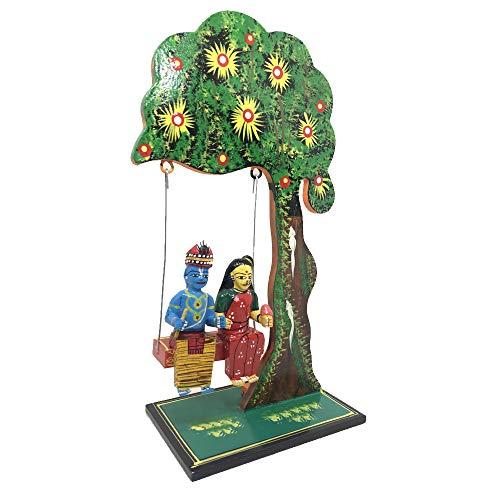 Artsytribe Handicrafts Kondapalli Radha Krishna Jhula