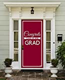 Victory Corps Class Banner Maroon - Outdoor GRADUATION Garage Door Banner Mural Sign Décor 36'' x 80'' One Size Fits All Front Door Car Garage -The Original Holiday Front Door Banner Decor