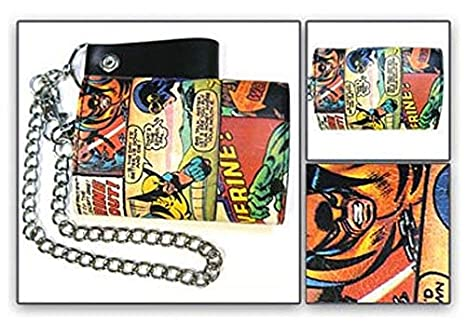 Amazon.com: Marvel Comics: Wolverine Color Cadena cartera ...