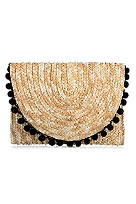 Shiraleah Women's Reagan Pom Pom Clutch