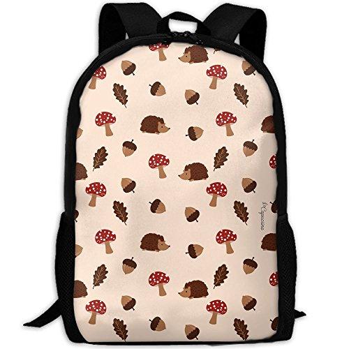 Mushroom Functional Design For School Backpack Bookbag Rucksack Perfect For Transporting For Casual In 4 Season