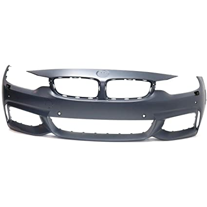 Amazon com: Front Bumper Cover For 2014-16 BMW 428i w/M