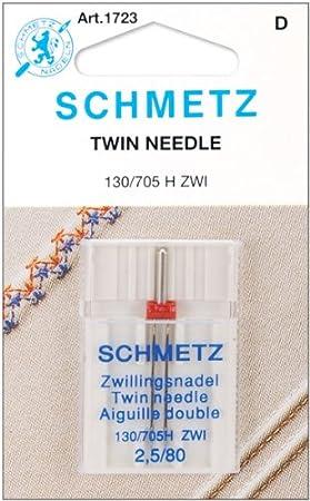 Amazon.com: Agujas para máquina de coser SCHMETZ Twin (130 ...