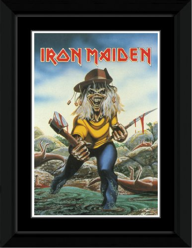 iron maiden aces high poster - 7